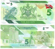 Trinidad And Tobago 5 Dollars 2020 UNC - Trinidad & Tobago