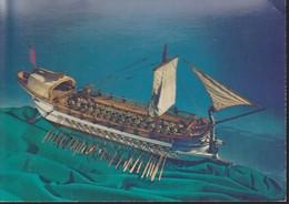 Cartolina ITALIA : La Spezia - Museo Navale - Serie Navi Antiche - Modello Di Trireme Romano - Formato Grande.n.v. - Andere