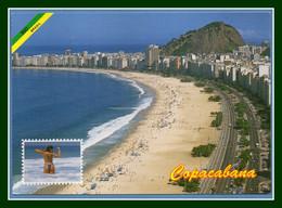 CM Brésil Brasil Capocabana Rio De Janeiro 2002 > France - Copacabana