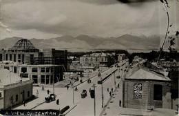 Iran Persia, TEHRAN TEHERAN, Partial View (1950s) RPPC Postcard - Iran