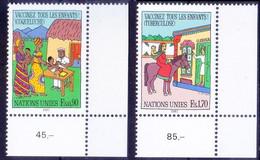 Tuberculosis Vaccines, Medicine, UN 1987 MNH 2v Corner - Medicina
