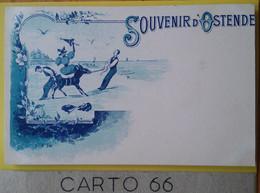 Belgique Ostende Oostende Souvenir - Âne - I.A.SW - Oostende