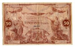 AVIGNON OU BORDEAUX // CREDIT CENTRAL ? Ou UNION COMMERCIALE ? // Bon De Cinquante Francs - Bonds & Basic Needs