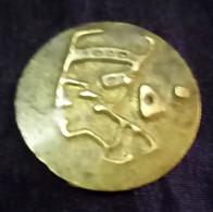 EGYPT , Old Nefertiti , 50 Millieme Token ,  Agouz - Casino
