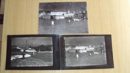 TRE RISPODUZIONI D'EPOCA DA FOTO DEL PADIGLIONE DELLA SISA SOCIETà AEREA DI TRIESTE DEL 1926 AVIAZIONE - Other