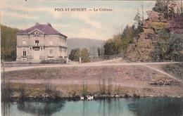 POIX-ST-HUBERT, Le Château, Colorisée - Saint-Hubert