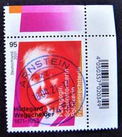 """Bund/BRD September 2021 Sondermarke """"150. Geburtstag H.Wegscheider"""" MiNr 3625, Ecke 2, Gestempelt - Gebraucht"""