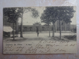 CPA BELGIQUE Environs De VIRTON Saint Mard La Gare - Andere