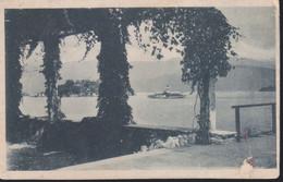 Cartolina ITALIA : Veduta Lago Con Battello.n.v. - Andere