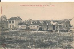 Landreville (10 Aube) La Gare - Train En Gare - Coll. Bellot Circulée - Other Municipalities