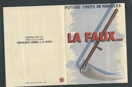 Propagande Sous PETAIN Tract 4 Volets , Propagande Anti Alcoolique -  Fau 11212 - Historische Documenten