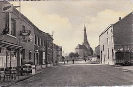 MELREUX S/OURTHE, Commune De HOTTON, Le Centre Du Village Et L'église Paroissiale, Photo-carte - Hotton
