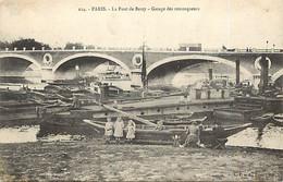 -dpts D-ref-AX405- Paris - Pont De Bercy - Garage Des Remorqueurs - - Paris (12)