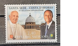 2020 - Vatican - MNH - 50 Years Of Relationship - Joint With Yvory Coast - 1 Stamp - Emissioni Congiunte
