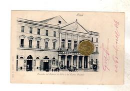 BARI TEATRO PICCINNI    VIAGGIATA 1900  NON COMUNE - Bari