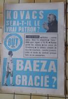JOURNAL DU FOOTBALL  BUT  NUMERO 354  - MARDI 12 JUIN 1973  - KOVACS , JOURNAL DES TRANSFERTS - Sport