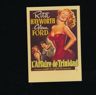 ##R- CPSM - Affiche Cinéma Sur Carte - Télérama - L'affaire De Trinidad Hayworth Ford - Posters Op Kaarten