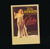 ##R- CPSM - Affiche Cinéma Sur Carte - Télérama - GILDa - Hayworth Vedette Atomique - Posters Op Kaarten