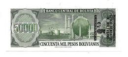 1984 // BOLIVIA // 50 000 MIL PESOS // UNC - Bolivia