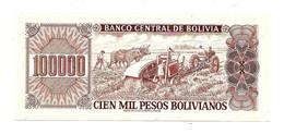 1984 // BOLIVIA // 100 000 MIL PESOS // UNC - Bolivia