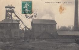 23 - Lavaveix-les-Mines - Beau Cliché Animé Du Puits Central - Other Municipalities