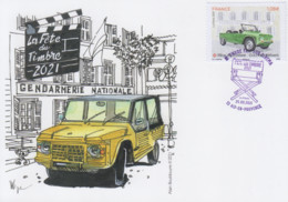 Carte  Maximum  1er  Jour   FRANCE   JOURNEE  Du  TIMBRE    AIX  EN  PROVENCE   2021 - Giornata Del Francobollo