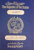 An Old Rare Sudan Second Passport Design After Independence With Rinho Sign/ Logo, 1960s... - Historische Documenten