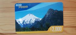 Prepaid Phonecard Chile CTR - Cile