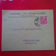 LETTRE AUTRICHE WIEN POUR DRESDEN - Covers & Documents