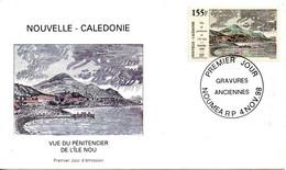 NOUVELLE-CALEDONIE. N°774 De 1998 Sur Enveloppe 1er Jour. Gravure Ancienne. - Engravings