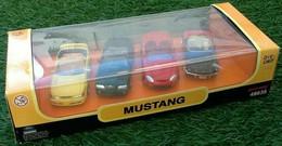 Coffret 4 Voitures Mustang 1/43 Newray - Non Classificati