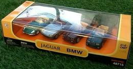 Coffret 2 BMW 2 Jaguar  1/43 Newray - Non Classificati