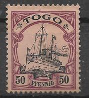 Deutsche Auslandspost, Schöner Gestempelter Wert Der Ausgabe Für Togo Von 1900, - Colony: Togo
