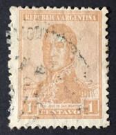 ARGENTINE / 1917 / N°Y-T : 213 Fil. Verticaux - Gebraucht