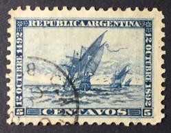 ARGENTINE / 1892 / N°Y-T : 93 - Gebraucht