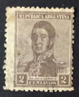 ARGENTINE / 1917 / N°Y-T : 214 Fil. Verticaux - Gebraucht