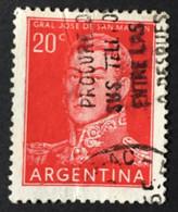 ARGENTINE / 1954 / N°Y-T : 546 - Gebraucht