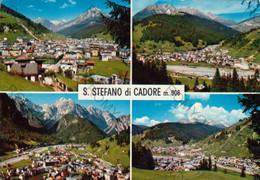 CARTOLINA  S.STEFANO DI CADORE M.908,BELLUNO,VENETO,MONTAGNA,VACANZA,FIUME,BELLA ITALIA,CULTURA,VIAGGIATA 1976 - Belluno