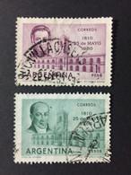 ARGENTINE / 1960 / N°Y-T : 619-620 - Gebraucht