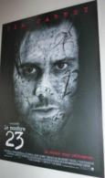 """Carte Postale édition """"Boomerang"""" - Le Nombre 23 (film - Cinéma - Affiche) Jim Carrey - Posters Op Kaarten"""