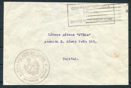 "Argentina Consulado De Cuba, Buenos Aires, Correspondencia Official, Convenio Postal Panamericano, ""Nyrba"" Cover - Luftpost"