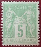 R1311/773 - SAGE TYPE II N°106 NEUF* LUXE - BON CENTRAGE - 1876-1898 Sage (Type II)