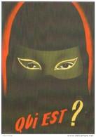 """Carte Postale édition """"Dix Et Demi Quinze"""" - Qui Est ? - Fantômas Et Compagnie - Centre Pompidou - Posters Op Kaarten"""