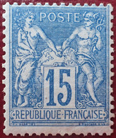 R1311/775 - SAGE TYPE II N°90 NEUF* - 1876-1898 Sage (Type II)