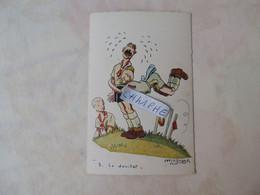 """SCOUT SCOUTISME - N° 3  """"LE DOUILLET"""" PAR MAGNAN R - CARTE FANTAISIE - Scouting"""
