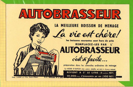 BUVARD & Blotting Paper : AUTOBRASSEUR Meilleure Boisson - Liquor & Beer