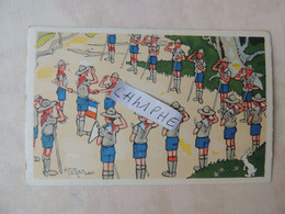 SCOUT SCOUTISME - ECLAIREURS UNIONISTES DE FRANCE 2 RUE D AMIENS A VICHY PAR ALAIN SAINT OGAN - Scouting