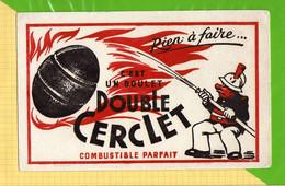 Buvard & Blotting Paper  :  C'est Un Boulet Double CERCLET   Pompier - Electricité & Gaz