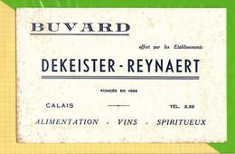 Buvard & Blotting Paper  : Alimentation Vins Spiritueux DEKEISTER  REYNAERT  Calais - Liquor & Beer