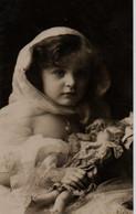 Vraie Photo  Glacée : Petite Fille En Organdi - Abbildungen